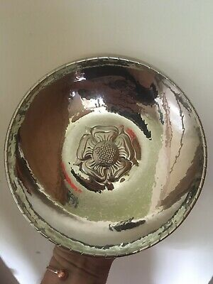 £60 • Buy Keswick School Of Industrial Arts Hammered Stainless Steel Arts & Crafts Bowl