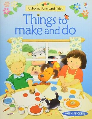 £1.50 • Buy Usborne Farmyard Tales Things To Make And Do Childrens Crafts Activity Book