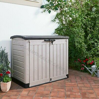 £169 • Buy Keter Store It Out Max Organiser Clean Garden Lockable Large Storage Box New
