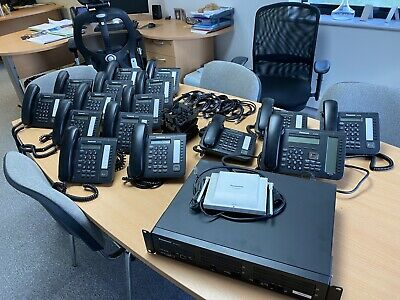 £750 • Buy Panasonic Ns700 Telephone System With 20 Handsets