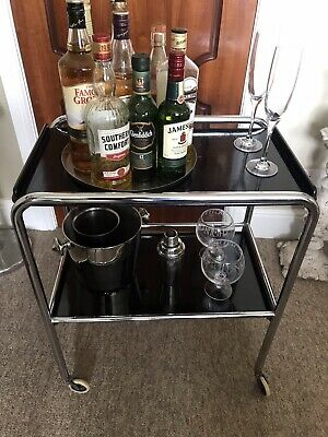 £101 • Buy PEL Made 1930s Art Deco Collectable Cocktail Trolley.