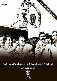 £10 • Buy Bolton Wanderers Vs Manchester United - FA Cup Final 1958 (DVD, 2008)