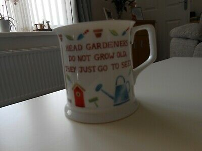 £4 • Buy Fine Bone China Mug/cup Past Times Gardeners Collection By Queens 9 Cms Across
