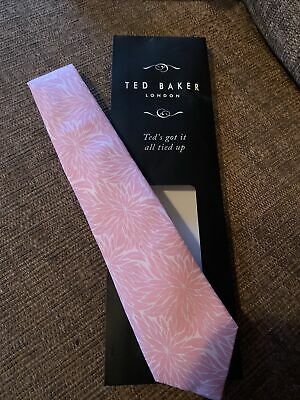 £7.50 • Buy Ted Baker Pink Tie & Matching Pocket Square