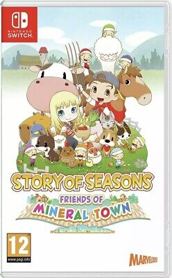 £24.99 • Buy Story Of Seasons: Friends Of Mineral Town Nintendo Switch Quick Dispatch New