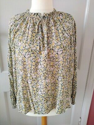 £9.99 • Buy F & F @ Tesco Peasant Style Top, Ditsy Floral. Size 14. BNWT. ❤️