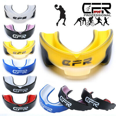 £5.99 • Buy MMA Mouth Guard Teeth Protection Boxing Gum Shield Rugby Senior Junior With Case
