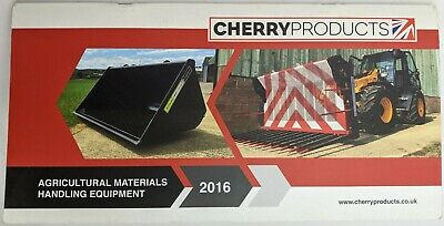 £7 • Buy Cherry Agricultural Materials Handling Equipment Brochure, 2016