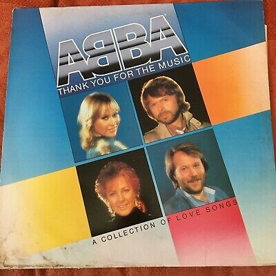 £8.54 • Buy ABBA Thank You For The Music; A Collection Of Love Songs LP Album EPC 10043
