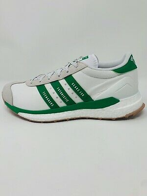AU137.32 • Buy Adidas Human Made Country Shoes Off White Green S42973 - Men's Size 10,11.5,12