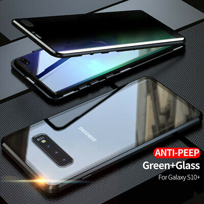 AU15.46 • Buy For Samsung Galaxy S20 S10 S9 S8 Note20 10 Anti-spy Privacy Glass 360 Case Cover