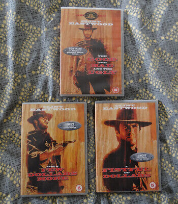 £3.90 • Buy  Clint Eastwood Western Collection (three DVDs)