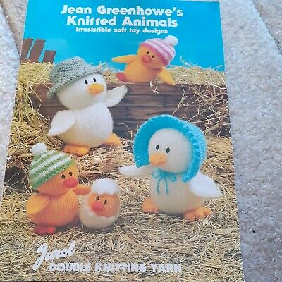 £2.50 • Buy Jean Greenhowe Knitted Animals Toy Knitting Patterns Booklet
