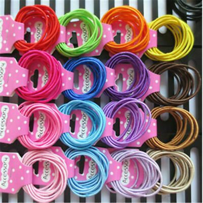 £0.06 • Buy 30PC Kids/girls 2 Mm New Small Hair Bands Children Hair Bands T007F
