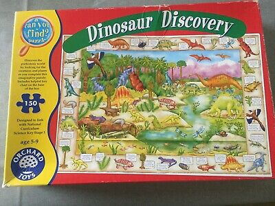 £1.40 • Buy Orchard Toys Dinosaur Discovery Jigsaw, 150 Piece, Age 5-9, Used