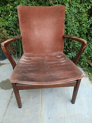 £40 • Buy Parker Knoll Chair, Small Armchair, Occasional, Fireside