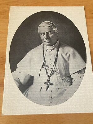 £1.99 • Buy St Pius X Picture Card Catholic Pope Traditional