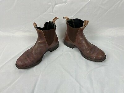 £40 • Buy RM Williams Chelsea Boots Sz 9 (Need Cleaning) Brown Leather Work