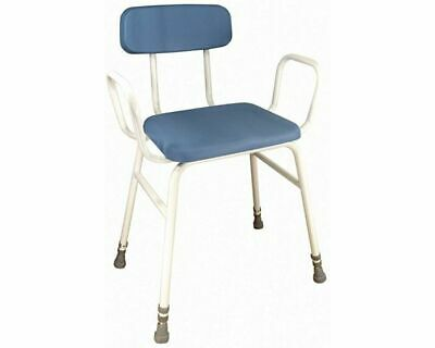 £39.99 • Buy Aidapt Astral Perching Stool With Arms And Padded Back Blue