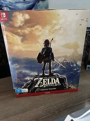 AU250 • Buy The Legend Of Zelda: Breath Of The Wild Limited Edition New Never Opened