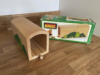 £19.99 • Buy Vintage Brio Tall Tunnel 33459 Wooden Train Track 1995 BOXED Thomas Compatible
