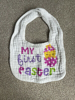 £0.99 • Buy Baby My First Easter Chick Bib