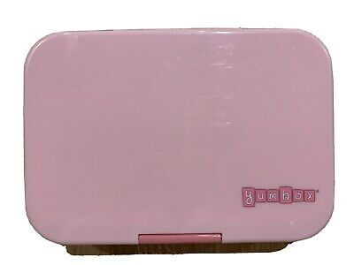 AU5 • Buy Yumbox 5 Compartment Lunch Box Kids Snacks Meal School Pink With Spare Insert