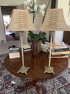 £18 • Buy Pair Of John Lewis Table Lamps With Shades