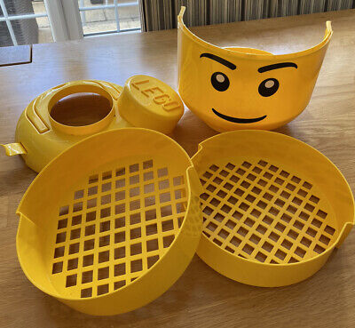 £34.99 • Buy X-Large LEGO Sort And Store Storage Head With Sorter Trays *VGC* Rare