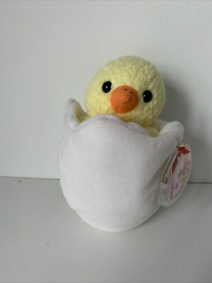 £6.99 • Buy Ty Beanie Baby Eggbert The Easter Chick 10 April 1998 New Tag Errors
