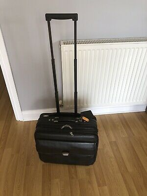 £30 • Buy Wheeled Business Hand Luggage Flight Pilot Briefcase Doctor Pulley Cabin Bag