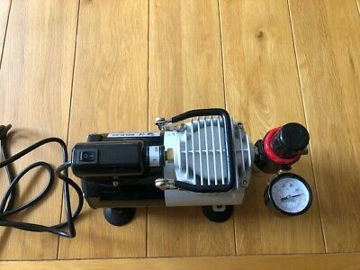 £30 • Buy Silent Airbrush Compressor Double Action Spray Model Tattoo Nails 240v