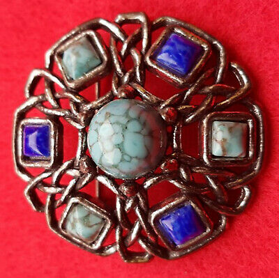 £0.99 • Buy Vintage Scottish Celtic Style Brooch By Miracle. Lovely Condition