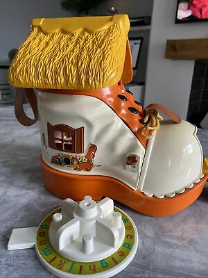£35 • Buy Boot Shoe House Toy Retro Vintage Matchbox Play Learning