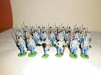 £14.99 • Buy PAINTED SOLDIERS 1/72 20mm - CONFEDERATE INFANTRY MARCHING - A.C.W X 26 HAT