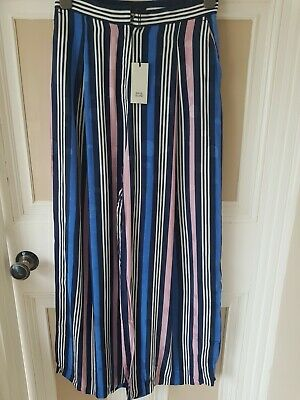 £5.99 • Buy River Island Wide Leg Palazzo Trousers Size 10 ** New With Tags **