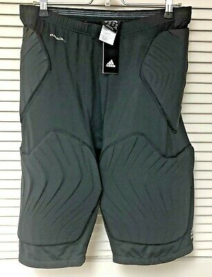 £23.11 • Buy NWT Adidas Climacool Padded Shorts 3XLT Black Techfit 9610D Compression 5 Pads