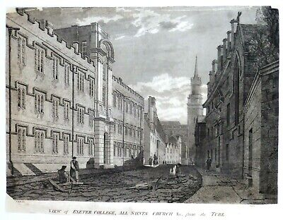 £28 • Buy 1806 Engraved Print Of The Turl, Oxford.