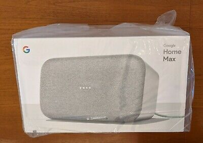 AU199.79 • Buy Google Home Max Speaker - Chalk (White) - FACTORY SEALED, NEVER OPENED Or USED