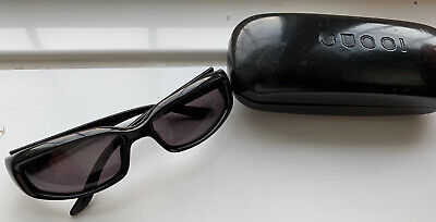AU75.49 • Buy GUCCI Vintage Sunglasses Rectangular With Case Black, Beach, Holiday,