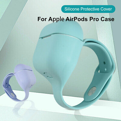 AU11.99 • Buy Wrist Band For AirPod AirPods Pro Case Skin Cover Accessories Wireless Charging