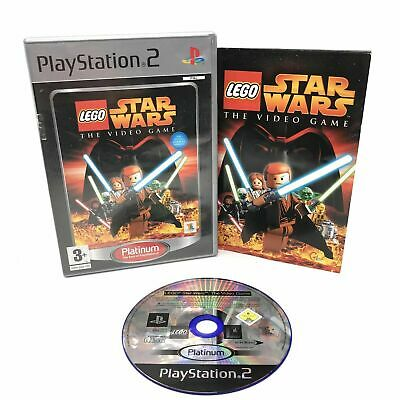 £3.95 • Buy LEGO STAR WARS THE VIDEO GAME(Platinum) For PS2 - Game Disc + Box +Manual