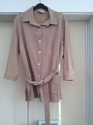 £4.50 • Buy Cotswold Collection Top With Loose Belt. Size 14. Great Condition.