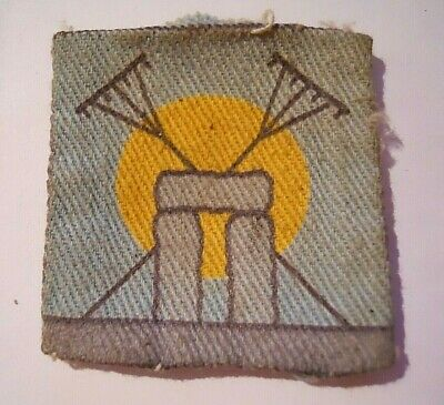 £9.38 • Buy Vintage Used Wiltshire Moonrakers Army Cadet Force Formation Badge 45 X 45 Mm