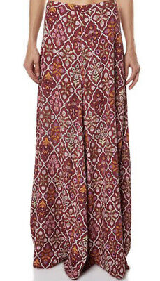 AU49 • Buy Tigerlilly Floral Red Maxi Skirt Size 8 Fully Lined Flowy And Gorgeous 🥰