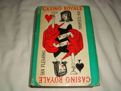 £380 • Buy CASINO ROYALE - Ian Fleming 1st Edition 1st/7th 1962 - First Edition James Bond