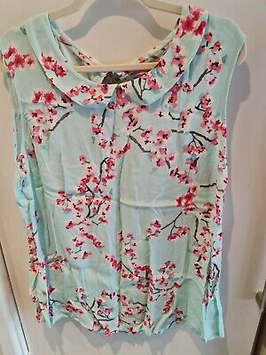 £5.50 • Buy Joules Womens Floral Top Size 18