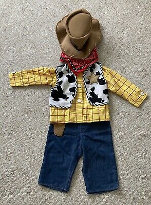 £10.50 • Buy Disney Toy Story Woody Dressing Up Costume, Age 12/18 Months VGC
