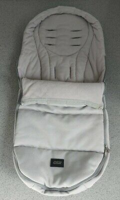 £65 • Buy Mamas And Papas Cold Weather Footmuff - Cosytoes - Buggy Snuggle - Grey Twill