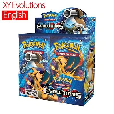 $128.50 • Buy Pokemon TCG: XY Evolutions Sealed Booster Box - Pack Of 36